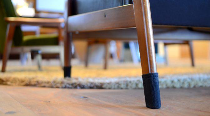 ソファで床をキズつけないための名品が進化