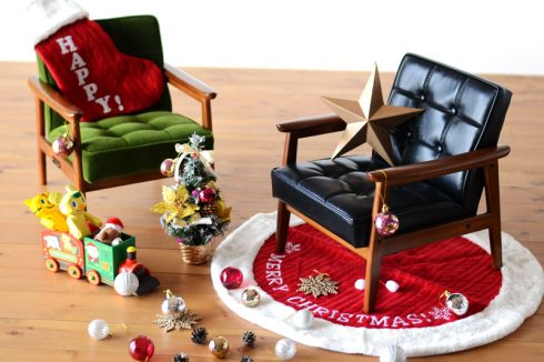 カリモク60 Kチェア ミニはクリスマスなどギフトとしても最適