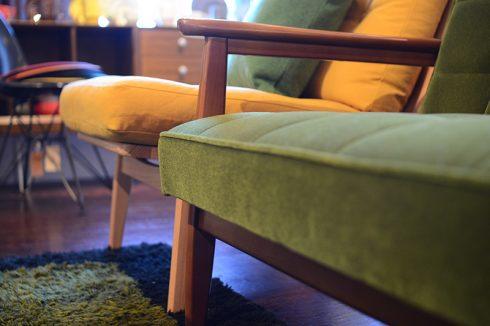 マルニ60とカリモク60のソファの座面高さの違い