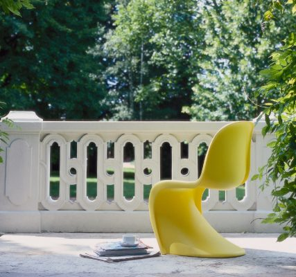 ヴェルナー・パントン(Verner Panton)によるデザインの「パントンチェア」