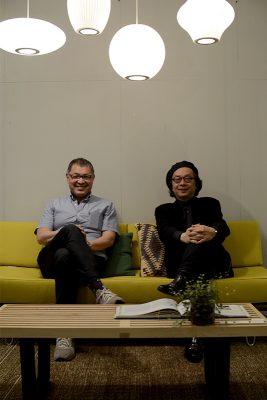 オーナー田中とジョースズキさん