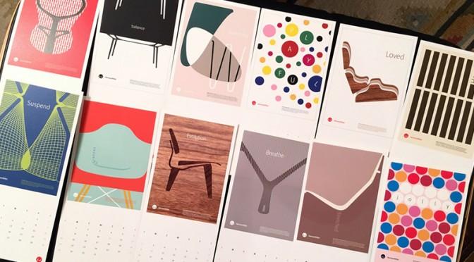 ハーマンミラーカレンダー2016がカッコいい!