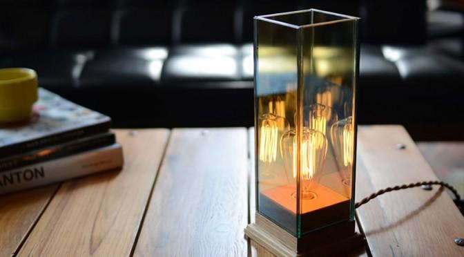 雰囲気重視の照明オブジェ