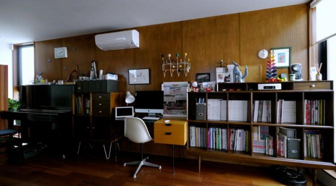 ミッドセンチュリースタイルな本棚(収納家具)で我が家は快適!