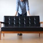 カリモク60のソファ「Kチェア」サイズってどれくらい?