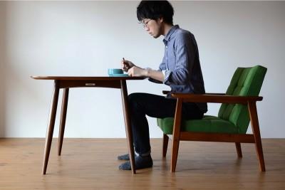 KチェアとDテーブル(62cm)