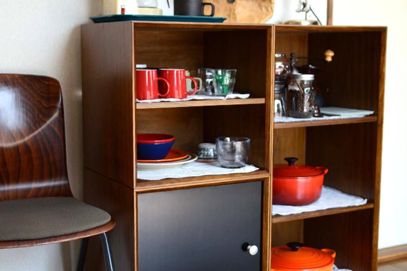 826STANDARD UNITのキッチン収納
