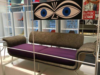 ブラニフ航空のためにデザインした超貴重なソファ