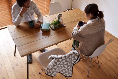 BIMAKES(ビメイクス) SHINBASU(シンバス) 無垢ダイニングテーブル 155
