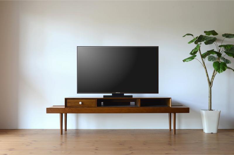 テレビとテレビ台のサイズバランス