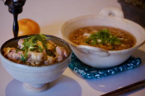 鹿沼の山中屋さんの鶏肉と金子養鶏所の卵で作った親子丼