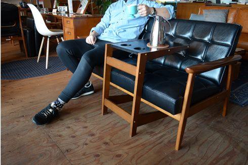 こんなリラックスした状態がソファの理想形