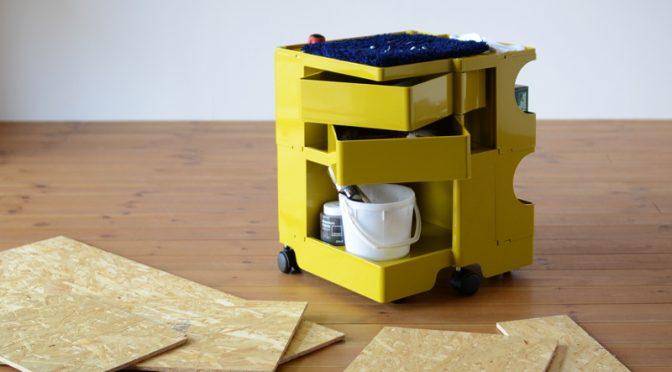 DIYツール・工具の収納にも便利なオシャレなツールワゴンならボビーワゴンはいかが?