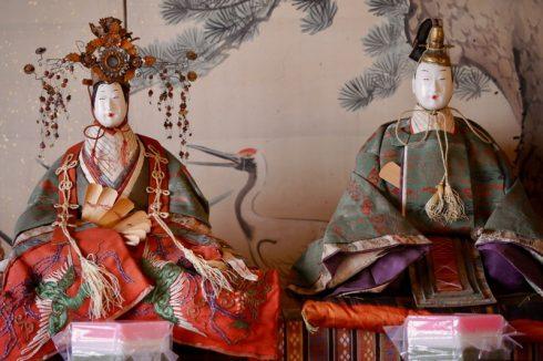 江戸時代のアンティークひな人形
