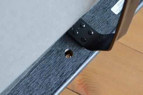 カリモク60 ソファ Kチェア2シーターの背もたれと座面の組付け