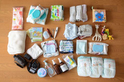 デザイナーズ収納ワゴン「ボビーワゴン3段5トレイ ホワイト」に赤ちゃん用品を収納してみた