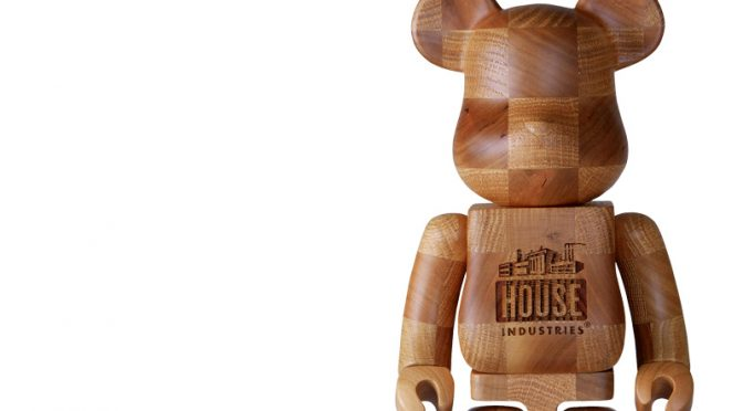 "数量限定で販売予定!BE@RBRICK KARIMOKU ""HOUSE INDUSTRIES CHESS"" 400%"