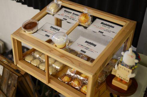 カフェ Comme la voie lacteeさんのスコーンやマドレーヌ、ティラミス、プリン