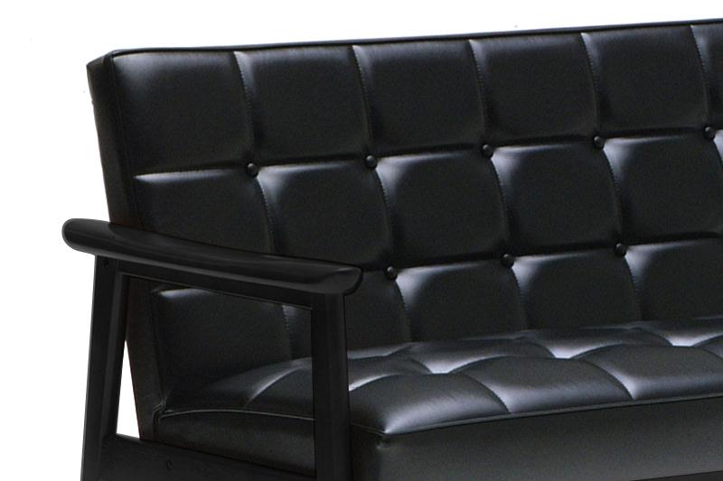 カリモク60 Kチェアに新作 ブラックブラックが登場!