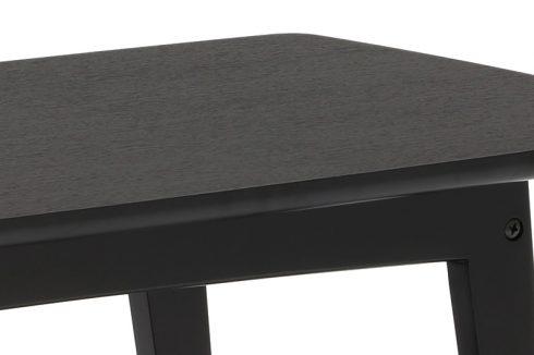 カリモク60 リビングテーブルS マットブラックの天板