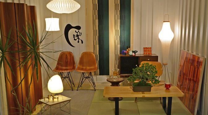 イームズの日本の隠れ家というテーマのスタイリング