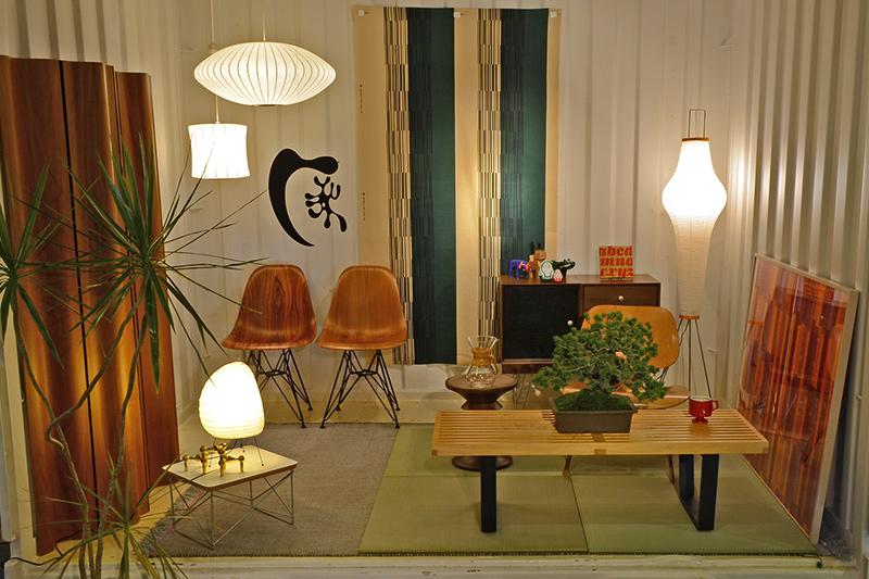 イームズの日本の隠れ家というテーマ