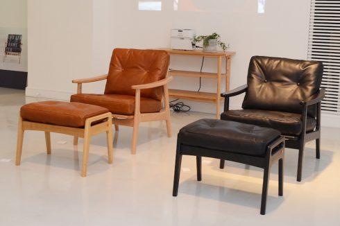 マルニ木工 創業90周年記念の新作展示会の模様その1