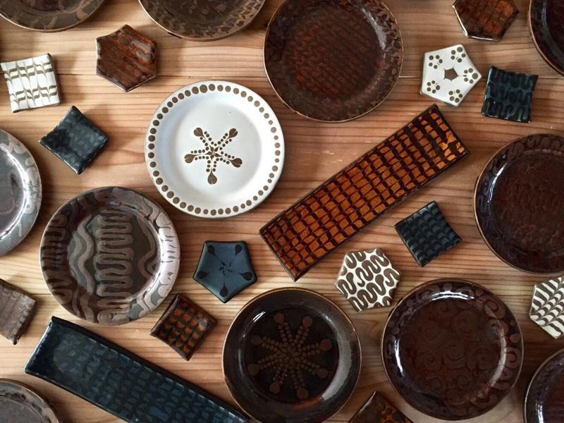 笠間焼の陶芸展