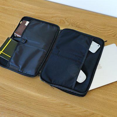 ポーター(吉田カバン)×マハラムのラップトップケース/二層式なので汎用性が高い