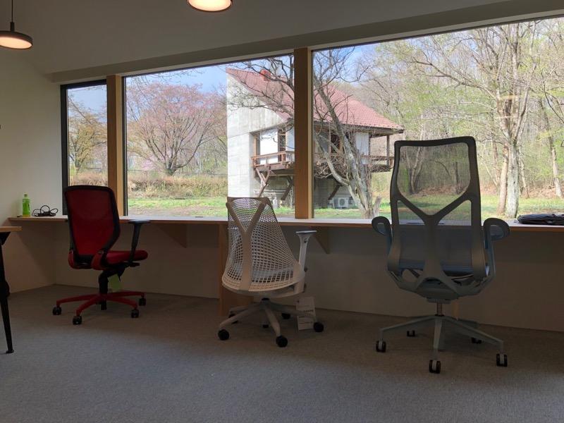 オフィススペースからの眺め