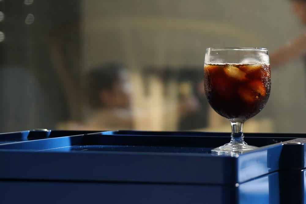 夏の暑さがアイスコーヒーも美味しくさせます