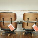 イームズのラウンジチェア、木目を選べる販売始めました!