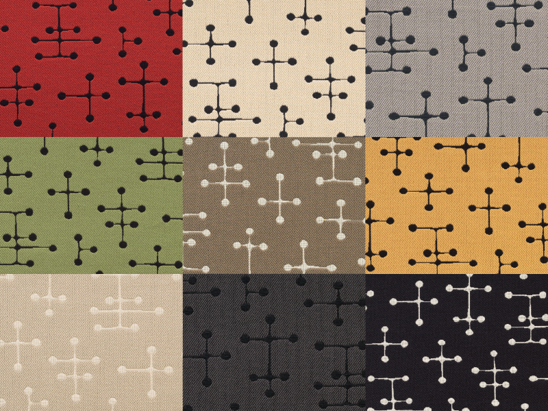 maharam社製Small Dot Pattern by Charles and Ray Eames , 1947