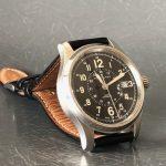 わたしのコレ第49回「ハミルトンの腕時計カーキ」