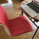 テレワークと椅子