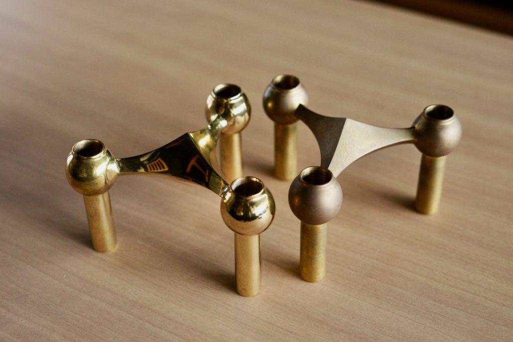STOFF Nagelの真鍮のエイジング