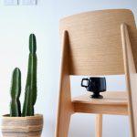 木製のスタンダードチェア、シェーズ トゥ ボワ
