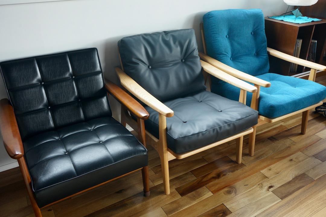 カリモク60、マルニ60のソファ