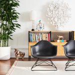 座椅子より高くソファより低いイームズチェア