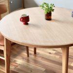 丸テーブルのススメ「マルニ60+のラウンドテーブル」