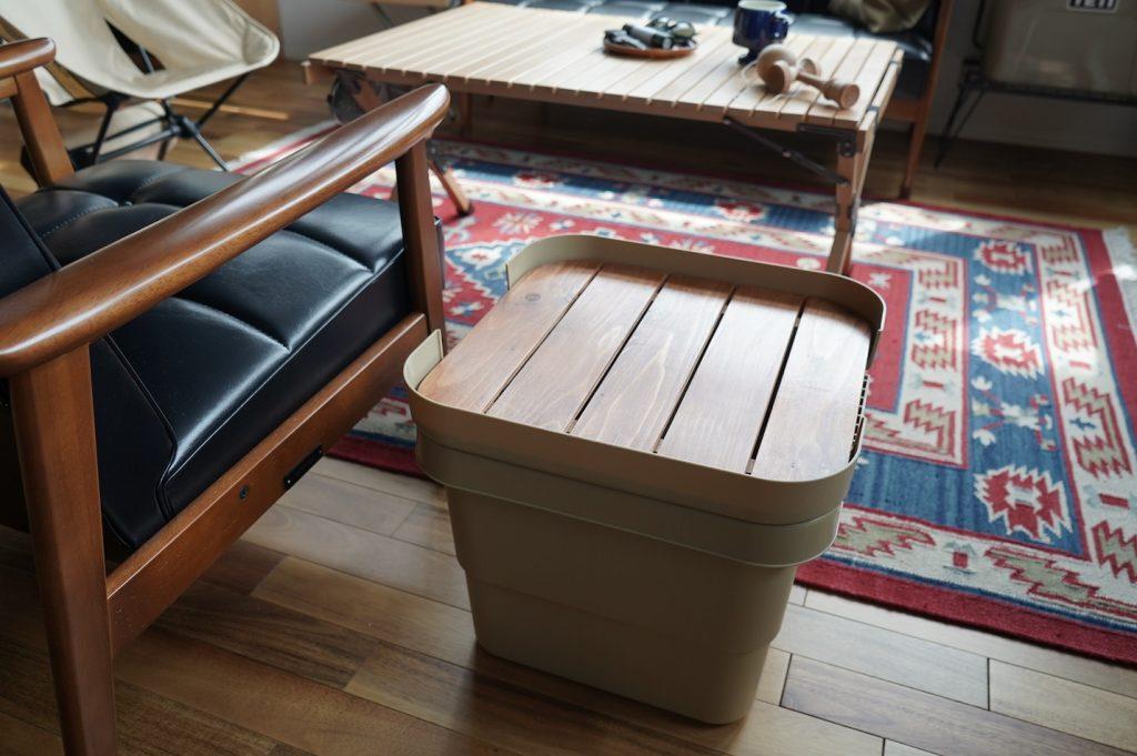 キャンパー御用達のトランクカーゴのテーブル化